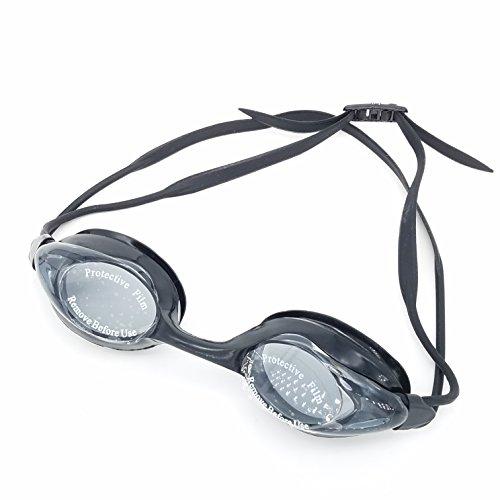 Komfortable Schwimmbrille mit Ultra-High-Qualität Kristall klar Schwimmen, Gläser antibeschlag...