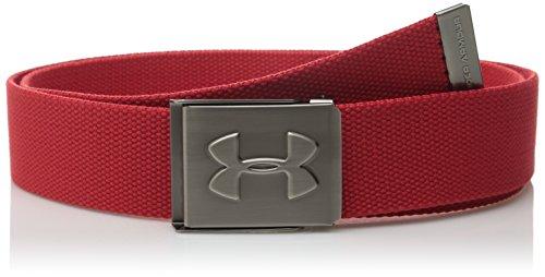 Under Armour Herren Sportswear Gürtel UA Webbing Belt Red/Graphite