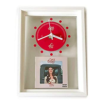 LANA DEL REY – Lust For Life: FRAMED CD ART CLOCK/Exclusive Design