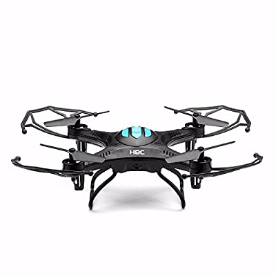 Hexnub EACHINE H8C Mini Quadcopter With 2MP Camera 2.4G 6-Axis Headless Mode RC Quadcopter Drone RTF Mode 2 (Black) Hexnub