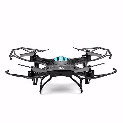 Hexnub Eachine H8C Quadcopter Drone with 2MP HD Camera Droni Radiocomandati Quadricottero Con Telecamera RTF Modalità 2 (Nero)
