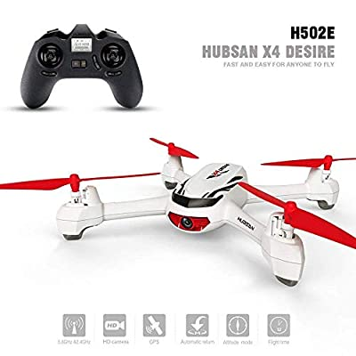 Hubsan H501S 5.8G RC Brushless FPV Drone Only with HD Camera for Adults NO Transmitter