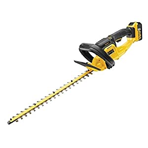DEWALT DCM563P1-GB 18 V XR Hedge Trimmer, 1 x 5 Ah, Yellow