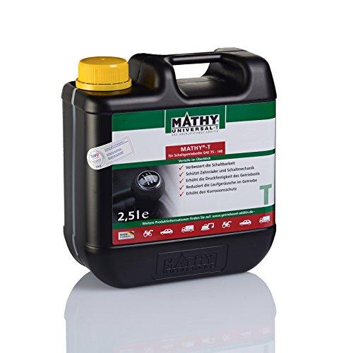 MATHY-T Additiv für Schalt und Achsgetriebe zum Schutz vor Verschleiß und Vorbeugung von Getriebeschäden 2,5 Liter