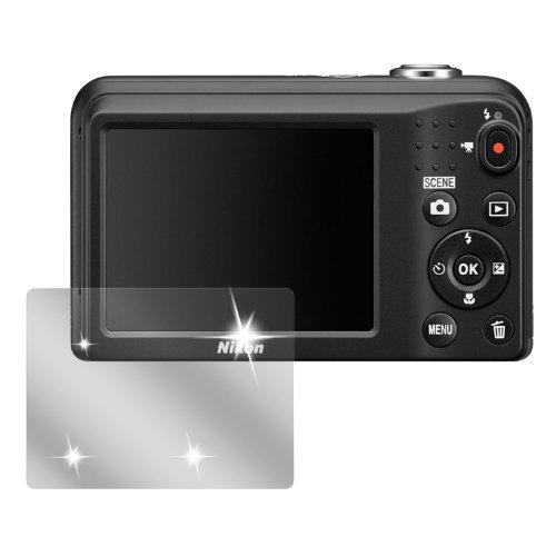 dipos I 6X Schutzfolie klar passend für Nikon Coolpix L29 Folie Displayschutzfolie (Nikon L29 Coolpix Kameras)