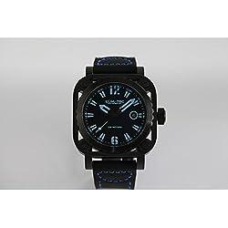 lum-tec G6Armbanduhr, Blau Schwarz G Serie