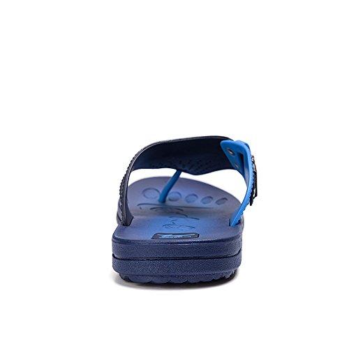 Scarpe Spiaggia Blu Respirabile Maschile Slittamento Da Estate Infradito Ciabatte Di Sesso xwqzXnT0v