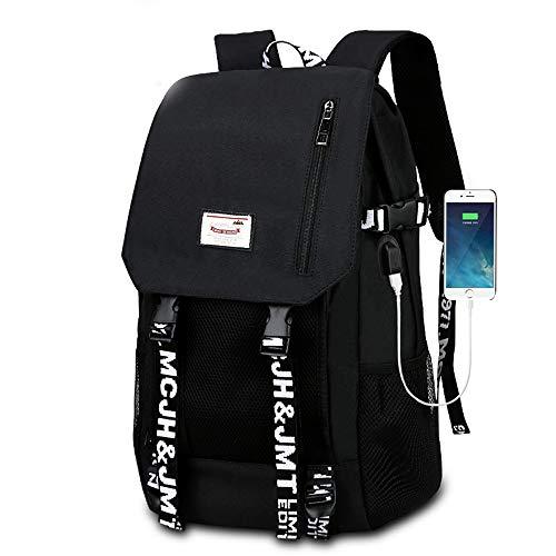 EARLYS Anti-diebstahl Rucksack Atmungsaktiv Wandern Laptop Daypack Wasserdicht Senior Mittelschule College Schule Schultasche USB-ladeanschluss Wird In 15-Zoll-laptops Verwendet Paket - Laptop Computer Verwendet
