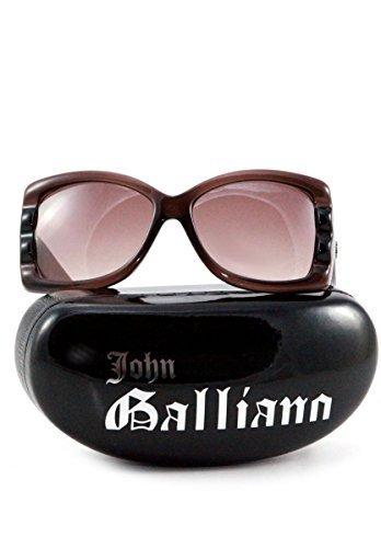 john-galliano-damen-sonnenbrille-braun-butterfly-retro-design