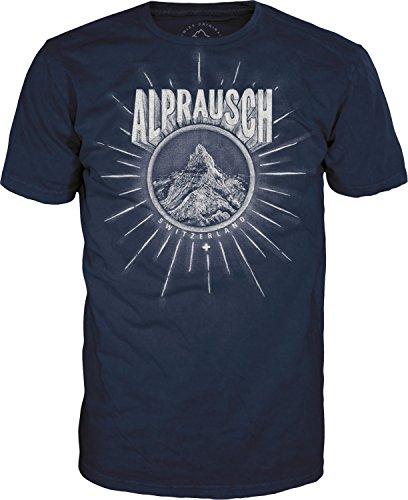 Alprausch Matter-Alp T-Shirt Blau
