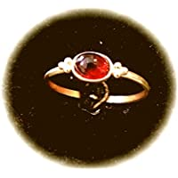 Julian Dynasty Ring Silver 925 Pure Gold Plated