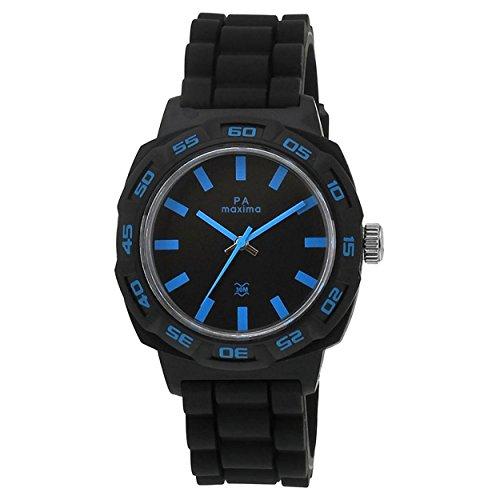 Maxima Fiber Analog Black Dial Men's Watch - 27667PPGW