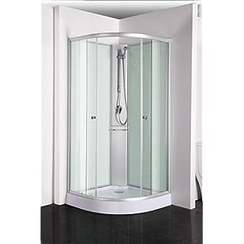 sanotechnik komplett duschkabine rio abmessungen 90 x 90 x 203 cm baumarkt. Black Bedroom Furniture Sets. Home Design Ideas