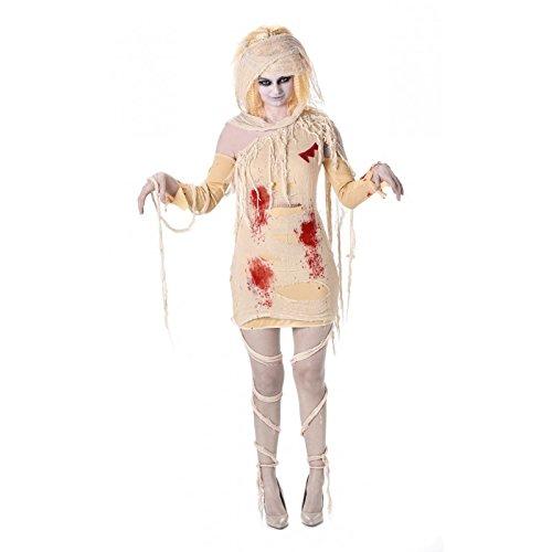 Karnival Costumes 84001–Costume da mummia egizia per donna taglia L