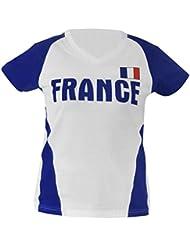 Sport Équipe manches courtes T-shirt fr Taille universelle