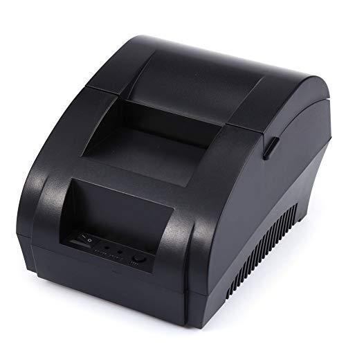 Kompatibles Farbband, Schwarz Tintenpatrone (Gaorunli Kompatibles USB-Thermodrucker Mini-Mini-Etikettendrucker mit Hochgeschwindigkeitsdruck, geräuscharm kompatibel mit ESC/POS-Druckbefehlen Drucker (Color : Schwarz))