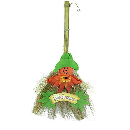 (Lxj Halloween Requisiten Kostüm Masquerade Leistung cos Hexenbesen Magic Hexenbesen Besen verkleiden)