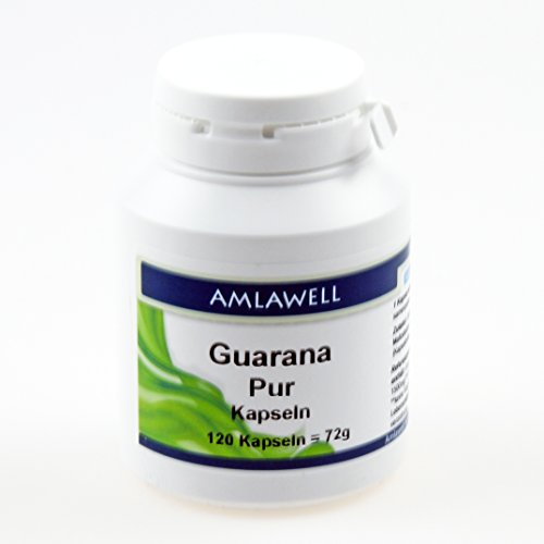 Amlawell Guarana Pur / 500mg / 120 Kapseln