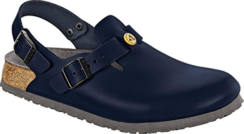 Birkenstock 61390 – 46 – Zapatos plantilla normal Tokio antiestáticos/piel natural, Balu, tamaño 46 -