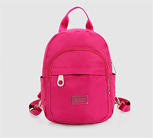 Wmshpeds Casual borsa a tracolla femmina in nylon impermeabile ultra-light anti-zaino di strappo A