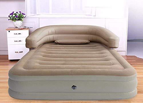 Cama inflable colchón inflable colchones hinchables de aire elevado Blow up elevado...