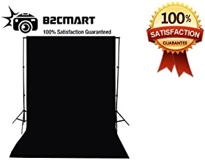 Hanumex Background for Studio Backdrop, 8x12ft(Black)