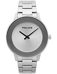 Police Reloj Cronógrafo para Hombre de Cuarzo con Correa en Acero Inoxidable PL.15386JS/