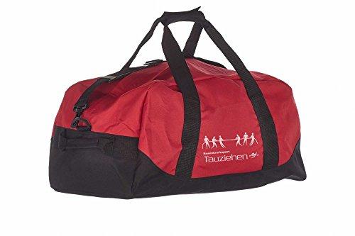 Kindertasche NT5688 rot/schwarz Tauziehen