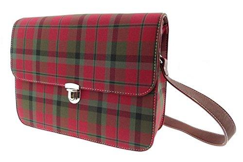 Borsa a tracolla da donna, motivo: Tartan scozzese TB7005 Disponibile In 4 Multicolore (MacNaughton)