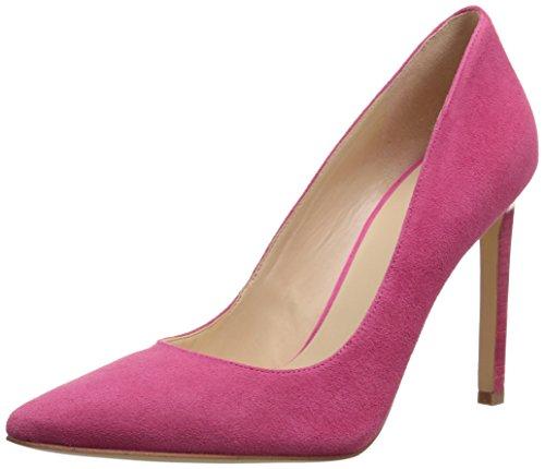Nine West Tatiana Leather Pump Dress Dark Pink/Suede