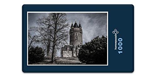 hansepuzzle 50899 Hintergründe - Turm, 1000 Teile in hochwertiger Kartonbox, Puzzle-Teile in wiederverschliessbarem Beutel