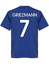 France griezmann équipe T-shirt – Royal