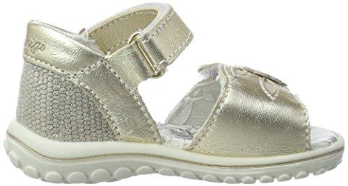 Primigi Psw 7555, Chaussures Marche Bébé Fille Or (Platino/Platino)