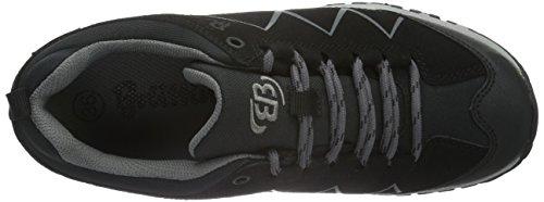 Brütting 211151, Chaussures de Randonnée Hautes Mixte Adulte Noir (Schwarz/Anthrazit)