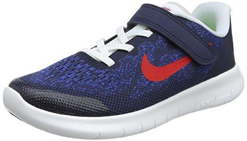 Nike Jungen Free RN 2017 (PSV) Laufschuhe, Blau (Obsidian/University Red/Racer Blue/Photo 405), 31 EU (Obsidian Bekleidung Kinder)