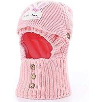 ZXFSD Bambini A Un Passamontagna Sciarpa Cappello Completo 2ca9336da363