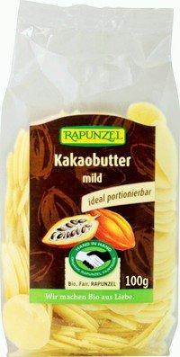 Kakaobutter Chips, mild HIH, 4er Pack (4 x 100g) - BIO