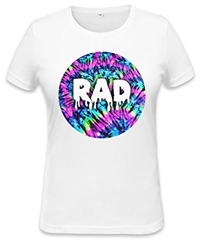 RAD FESTIVAL ALL OVER PRINT ACID TYE DYE DRUGS SWAG Womens T-shirt X-Large (Shirt Top Tank Tye-dye)
