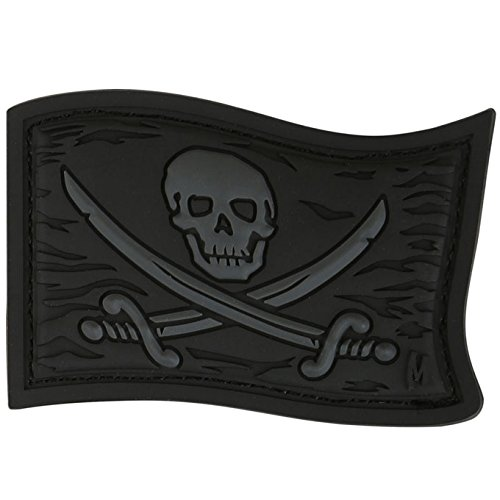 Maxpedition Jolly Roger (Stealth) Moral Patch
