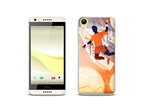 etuo Handyhülle für HTC Desire 650 - Hülle Fantastic Case - Handball - Handyhülle Schutzhülle Etui Case Cover Tasche für Handy