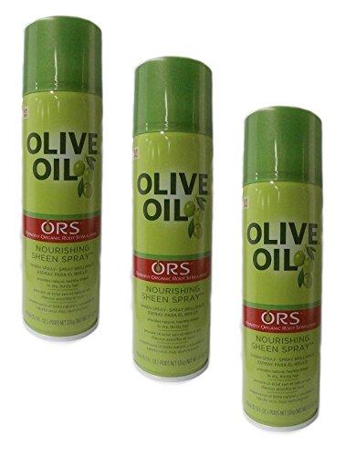 3x Organic Root Stimulator Olive Oil NOURISHING SHEEN SPRAY 472ml (insgesamt - 1416ml)