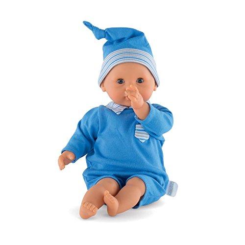 Corolle–frn84–Puppe Baby Câlin, blau (Corolle Baby Puppe)