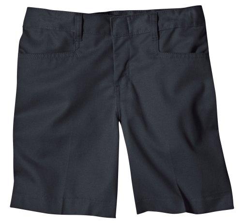 Dickie Classic Shorts (Dickies - - KR511 Girl 's Classic Short, 6, Black)
