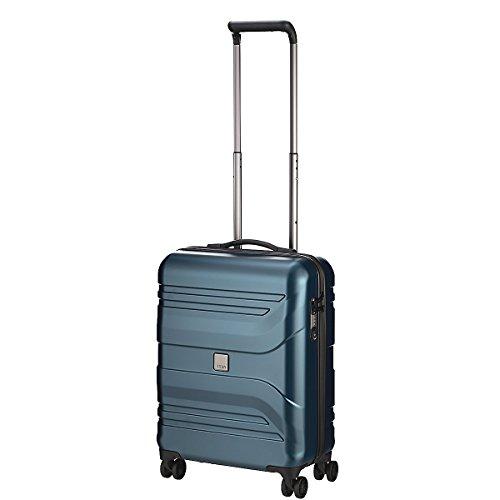"""TITAN Valise trolley """"Prior"""" avec 4 roues pétrole Koffer, 55 cm, 40 liters, Blau (Pétrole)"""