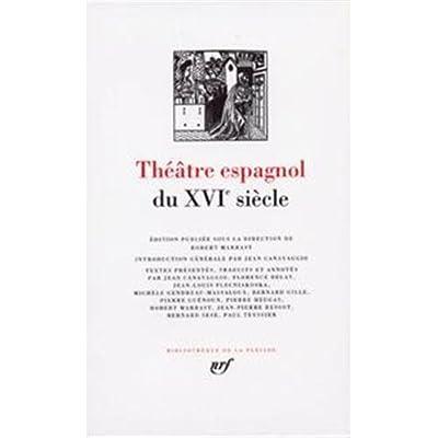 Théâtre espagnol du XVIe siècle
