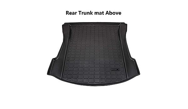 su Misura Vasca Baule Adatto per Tesla Model 3,Front Trunk Mat Super11Six Tappetino per Bagagliaio Vassoio in Gomma