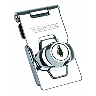 Sterling LGH100 76mm Locking Hasp - Chrome Plated