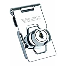 Sterling LGH100 LGH Locking Hasp, Grey