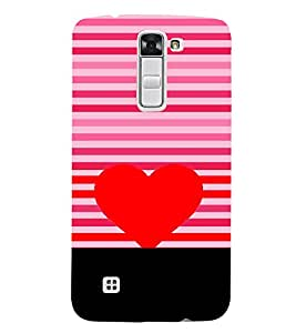 Fiobs Multicolor Ethnic Design Love Designer Back Case Cover For Lg K3 :: Lg K3 Dual K100 Ls450