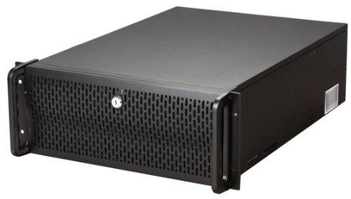 Rosewill RMS 4U Server Chassis/Server Fall/Rackmount Fall, Metall Rack Mount Computer Fall mit 8Buchten & 4Fans vorinstalliert (rsv-r4000) 4U, 8 Bays & 7 Fans